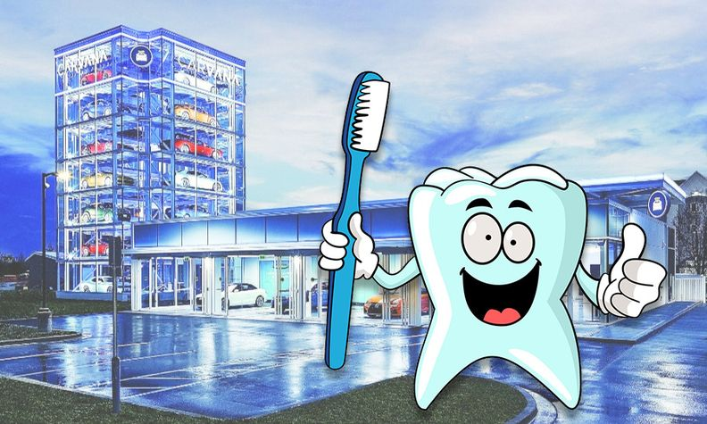 Brush your teeth or sell your used car...