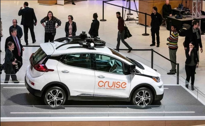 GM Cruise autonomous vehicle unit Has $1.15B investment
