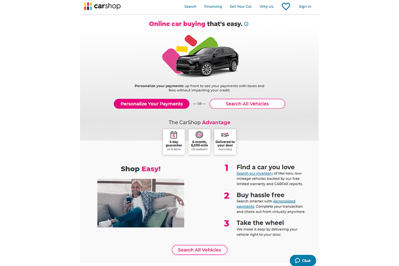 Penske, Cox develop used-vehicle online buying platform