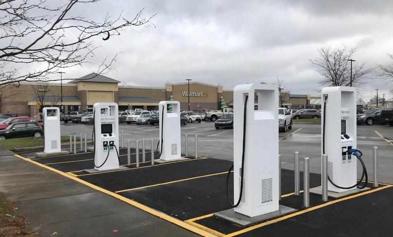 VW Electrify and Walmart