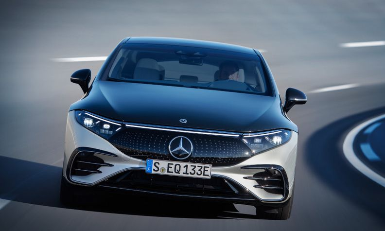 Daimler's Mercedes has already launched EVs such as the EQS.