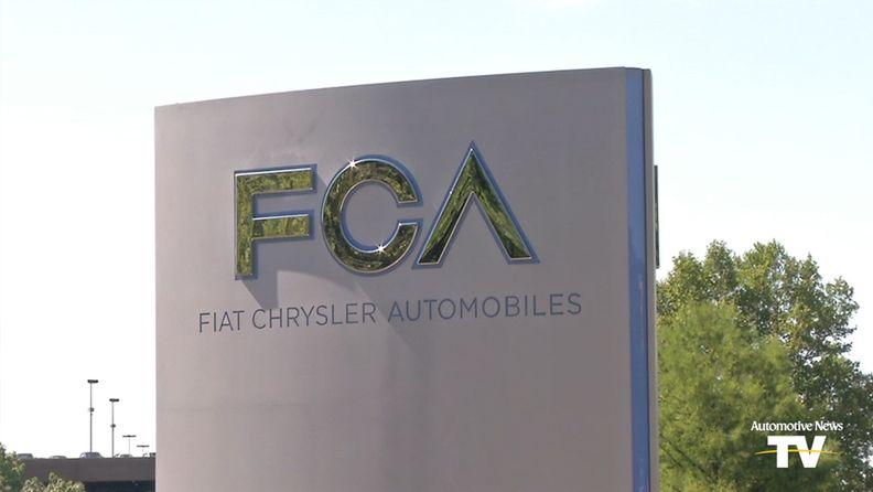 Fiat Chrysler sign