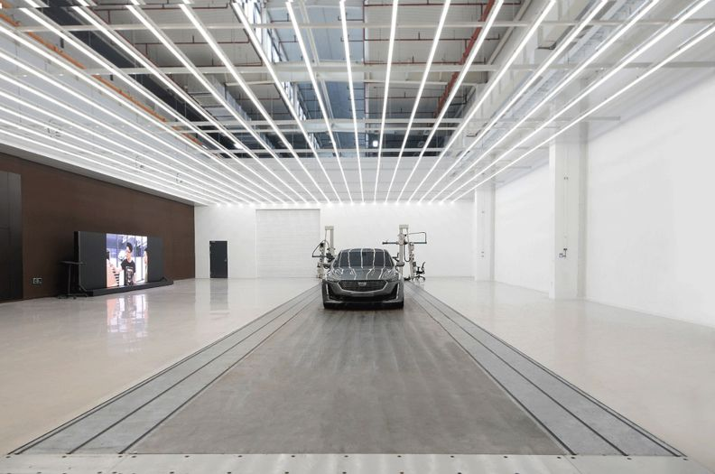 GM China design studio