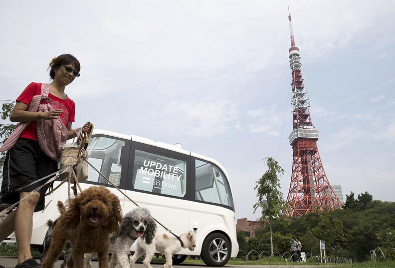 Japan autonomous