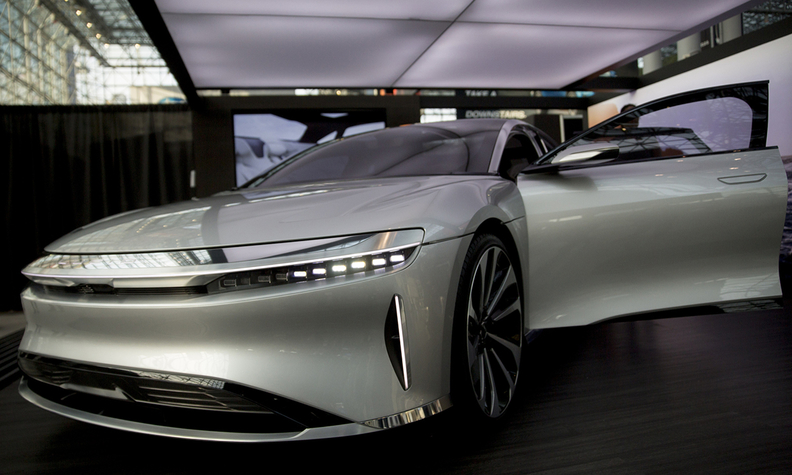Lucid Motors in talks with automakers to share EV tech
