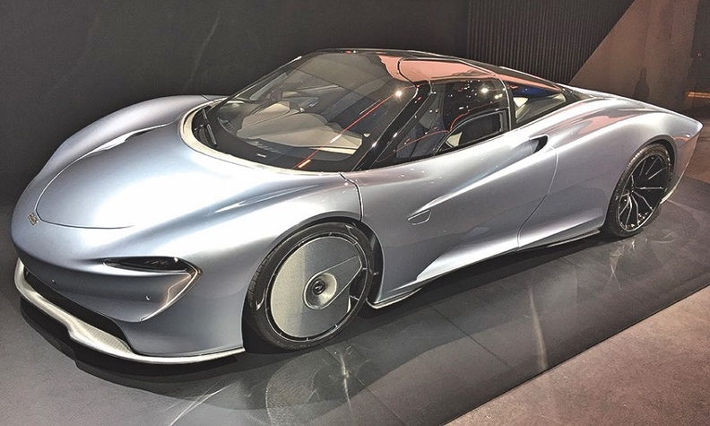 mclaren speedtail hypercar is nearly opposite of senna