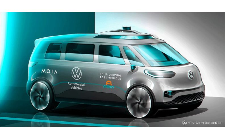 ID.BUZZ autonomous microbus