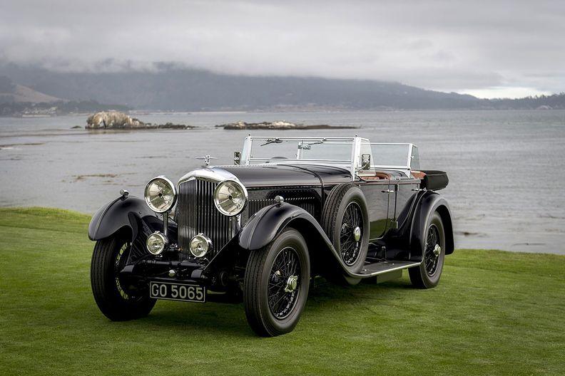 Pebble Beach auto show