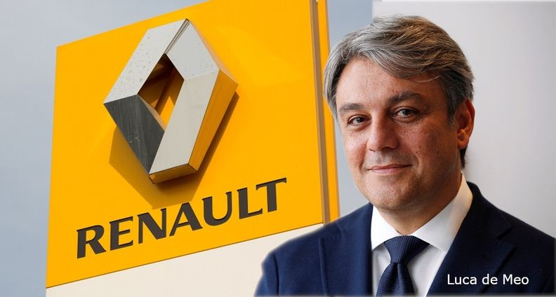 Luca de Meo and Renault