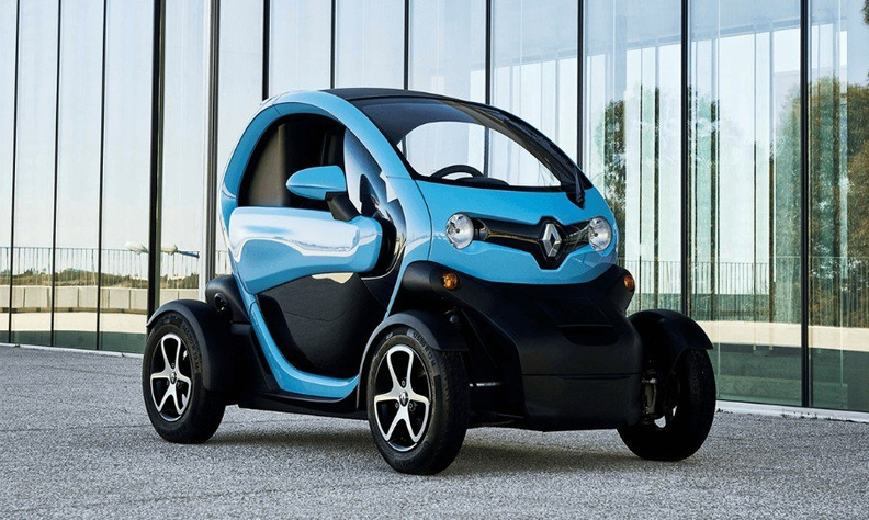 Renault Twizy Gets New Life In Korea As Motorcycle Replacement