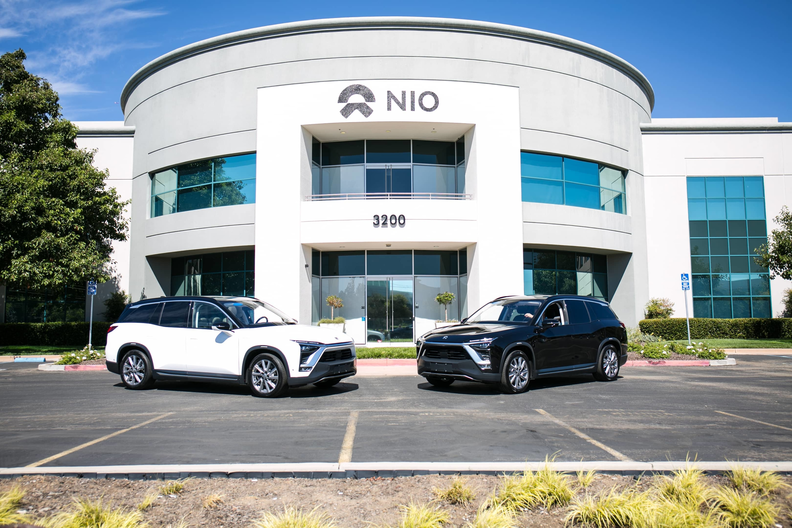 U.S.-listed Nio is among the China EV makers planning a listing in Hong Kong..
