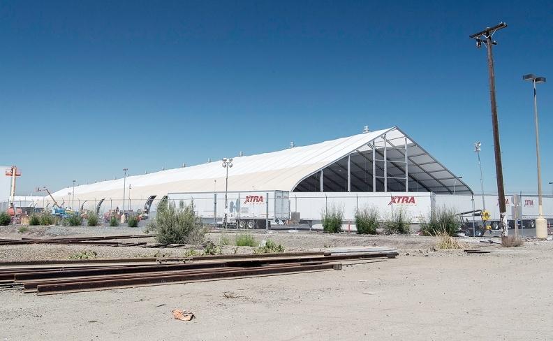 Tesla's tent
