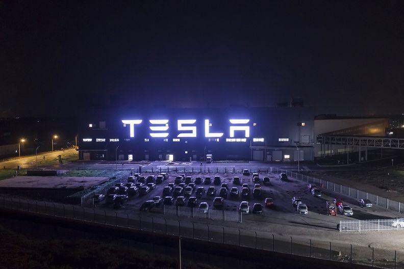 Tesla China factory