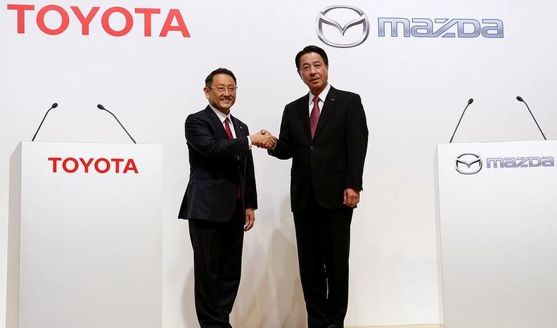 Toyota Mazda
