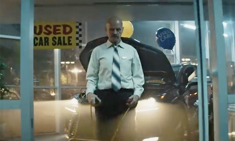Vroom ad on dealership torture