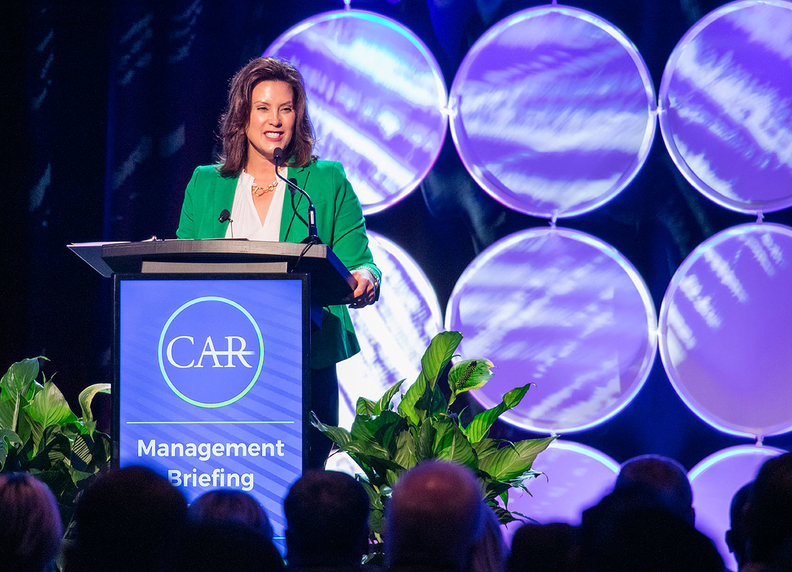 "Whitmer: ""We take advantage of our natural strengths and assets, and we build upon that by ensuring that we've got the talent, work force and the infrastructure that supports all this cutting-edge mobility work that is happening."""