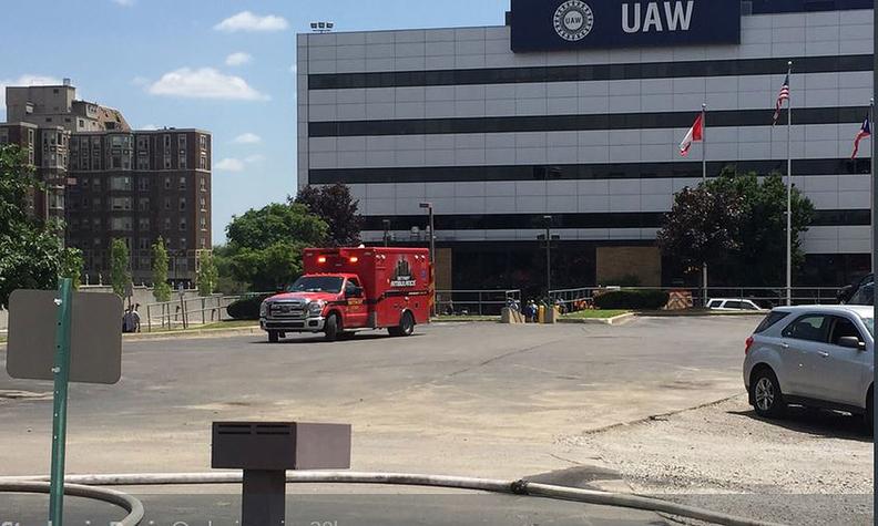 UAW fire