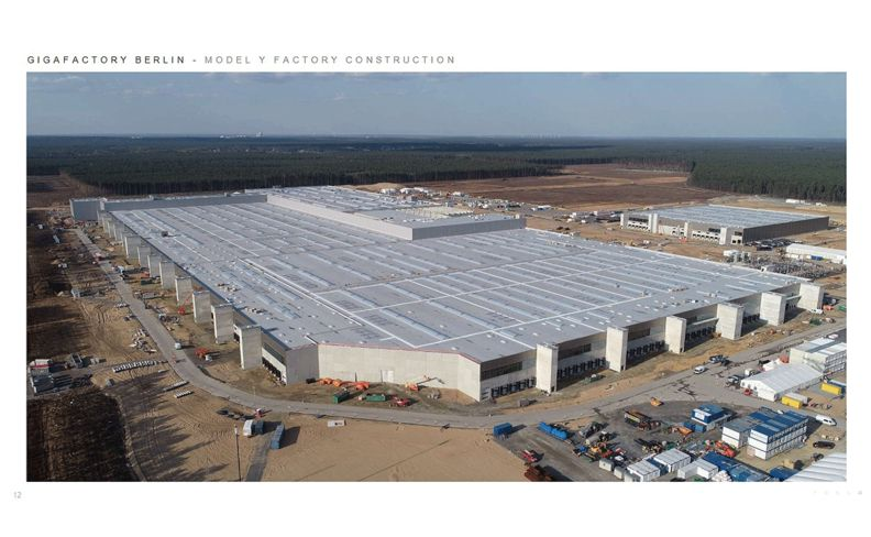 Tesla German plant