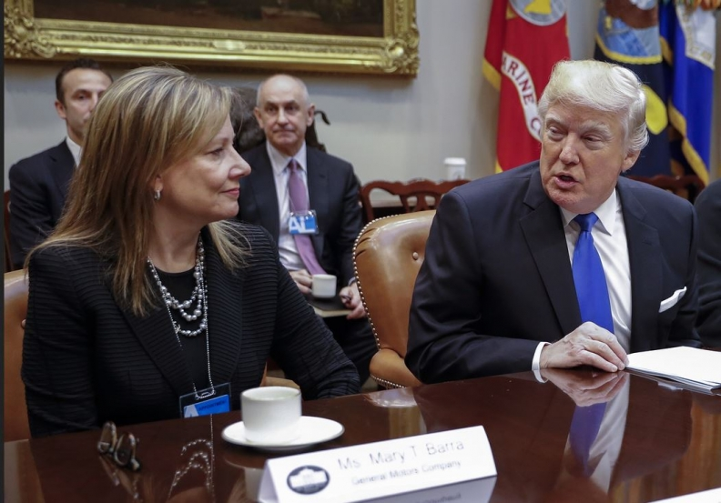 Trump wants GM CEO 'to do something quickly' to reopen OH plant