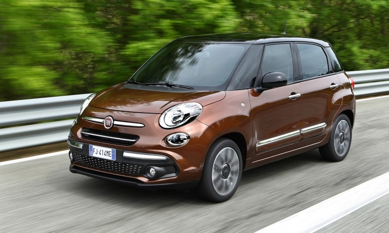 Fiat Chrysler builds the Fiat 500L in Serbia.
