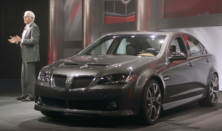 Pontiac revisits the rear-wheel-drive sport sedan