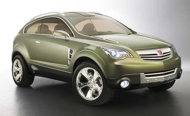 Saturn previews second-gen crossover with 2006 concept in New York