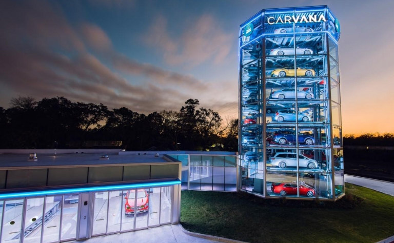 Carvana wins over investors with forecast for Q3 records