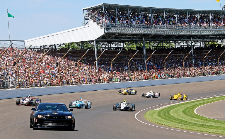 Out in front: Notable pace cars at Indy