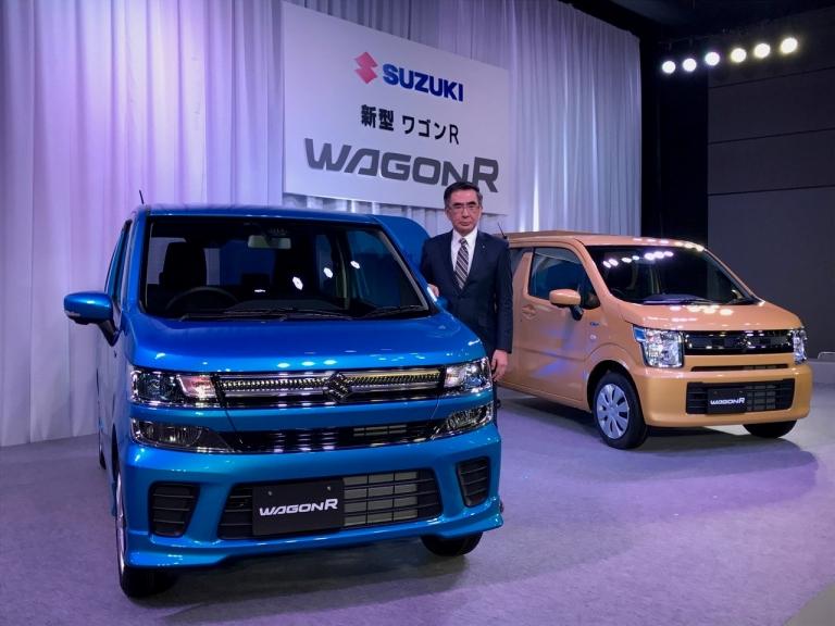 Suzuki infuses small Wagon R with tech