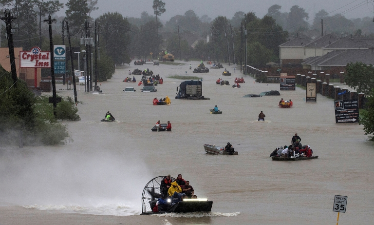 Industry responds to Harvey disaster
