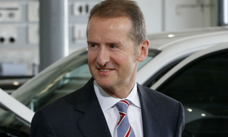 Volkswagen CEO Herbert Diess believes the automaker could benefit from Tesla's competence in the fields of batteries and software, Manager Magazin said.